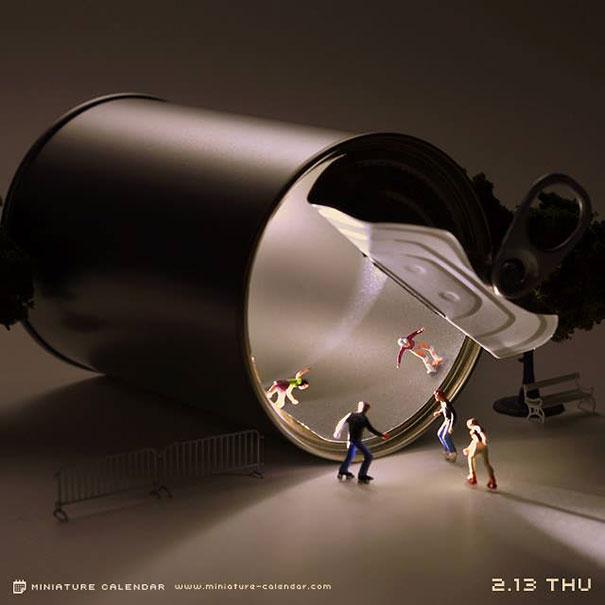 miniature-calendar-tanaka-tatsuya-dioramas-14
